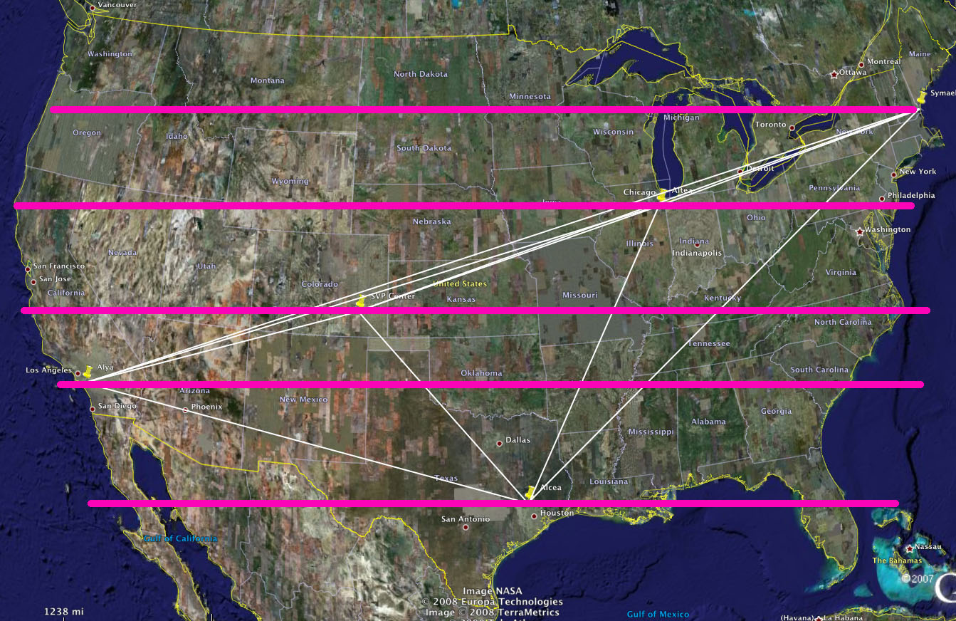 Dynaspheres Across America